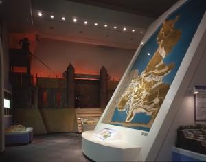 安土城地形模型