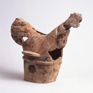 ゲホウ山古墳鶏形埴輪